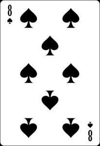 8 pique poker