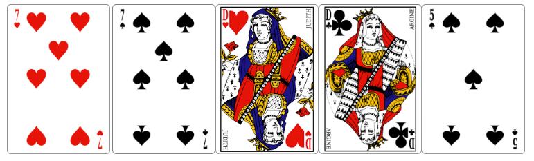 Double paire au poker