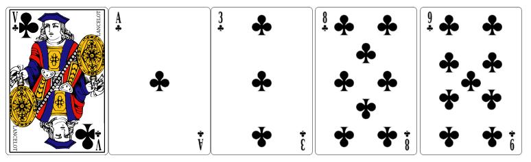 La couleur au poker