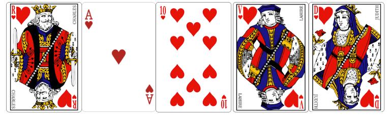 quinte flush royale au poker